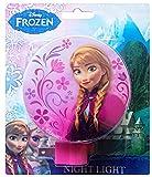 Disney Frozen Girls Anna Night Light (Pink)