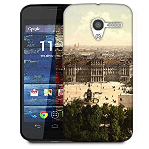 Snoogg Abstract Rome City Designer Protective Phone Back Case Cover For Moto X / Motorola X