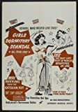 51vGm43t18L. SL160  Girls Dormitory Scandal POSTER Movie (27 x 40 Inches   69cm x 102cm) (1950)