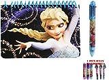 Disney Frozen Elsa The Queen Spiral Autograph Book and 1 Pen
