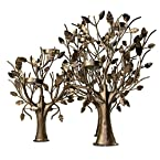 Metal Trees Tea Light Holder