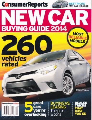 consumer reports new car buying guide 2014 import it all. Black Bedroom Furniture Sets. Home Design Ideas