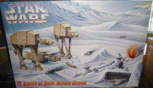STAR WARS Battle of Hoth Action Scene Model Kit Skill Level 2