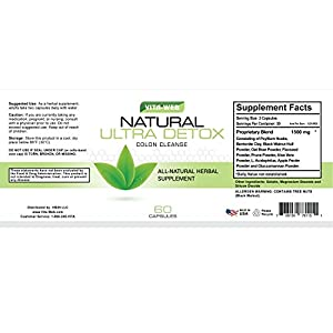 Colon Cleanse-All Natural-*Lose Weight, Flush Toxins*-Promotes Colon ...