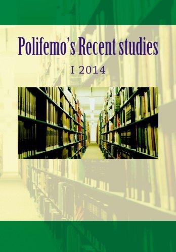 Polifemo's recent studies: I 2014