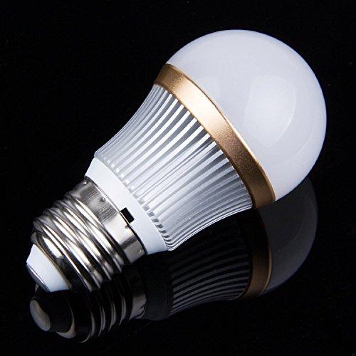 Dimmable E27 Base Bright 3 Watts Led Globe Bulb Ball Light Indoor Flood Lamp Cool White Lighting Bulb