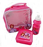 Disney Sofia the First 3 Piece Lunch Bag Set