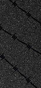 Fkd Progrip Barbed Wire Die Cut Skateboard Griptape - Black
