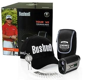 Bushnell 201930P12 Pack télémètre Tour V2 Premium Argenté