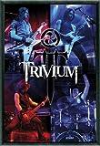 Poster - Trivium Poster und Kunststoff-Rahmen - The Crusade, Live (91 x 61cm) von Trivium