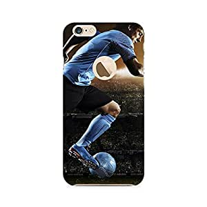 Ebby Messi Flying Premium Printed Case For Apple iPhone 6/6s with hole