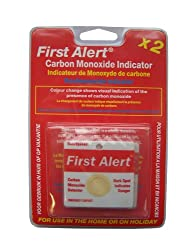 First Alert Carbon Monoxide Detector Indicator Patch, FACOPE from First Alert