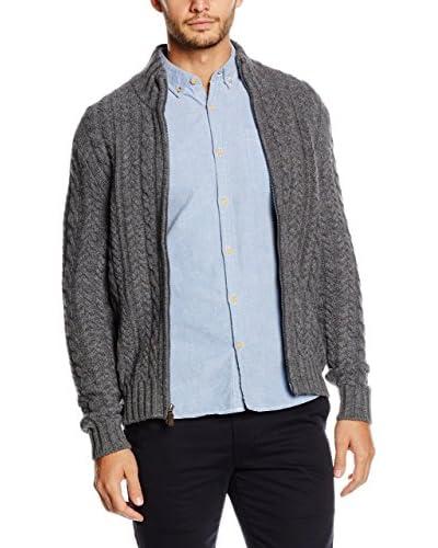 Dockers Cardigan Lana Cable Full Zip Sweater