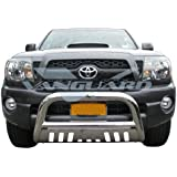 """2005-2015 Toyota Tacoma Bull Bar with Skid Plate 3"""" S/S"""