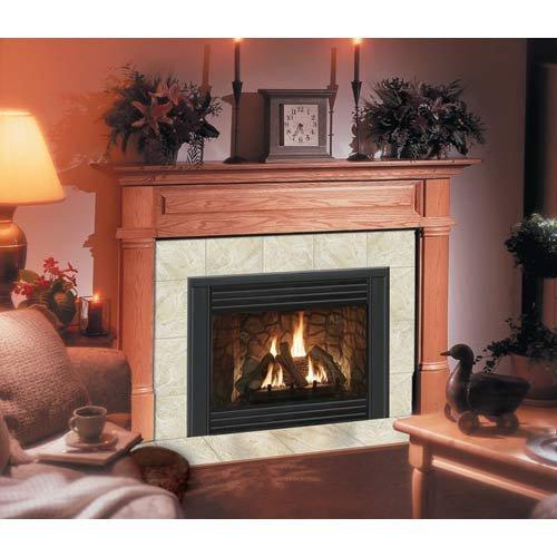 claremont-flush-fireplace-mantel-in-light-golden-oak