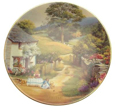 Davenport For All Time June plate Marji Daisley - 6 inch diameter - CP1489