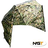 "50"" Camo Storm Brolly With Sides With Wire Peg"