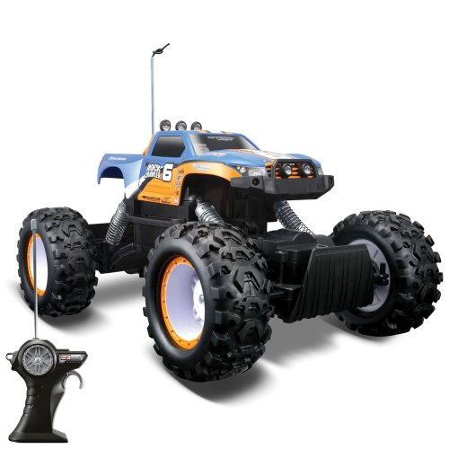 Maisto Rock Crawler Remote Radio Controlled 4X4 RC - Assorted