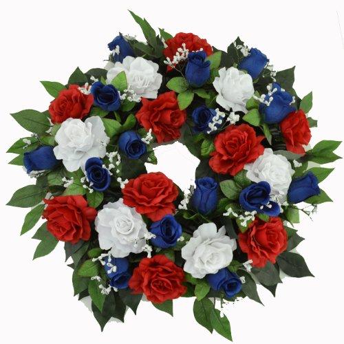 Hodeac shop for home decor accessories online for Red white blue flower arrangements