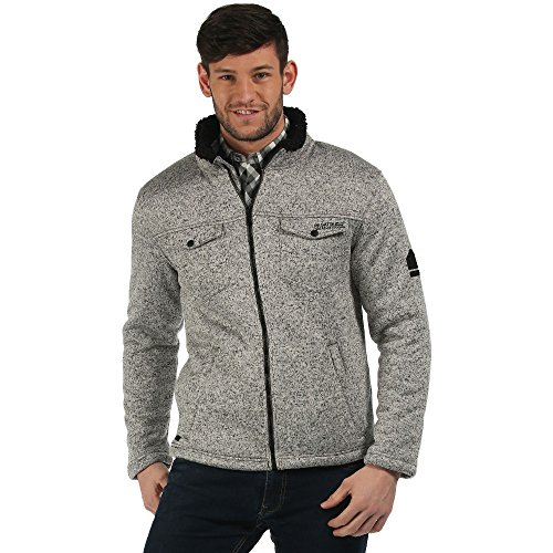 regatta-mens-pikes-thick-high-pile-bonded-full-zip-fleece-jacket