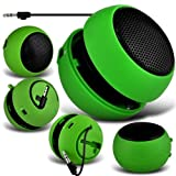 Guilty Gadgets ® - Mini Portable Rechargeable Speakers For Apple iPad, 2, 3, 4, Mini, iPhone, 3G, 3GS, 4, 4S, 5, 5S, 5c, iPod Classic, iPod Nano 3G, 4G, 5G, 6G, Shuffle, Touch, 6, 7, Laptop, Macbook, Pro, Air, iMac
