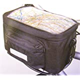 Bicycle Handle bar bag with map pouch