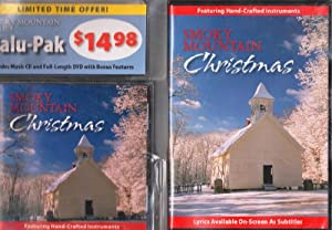 Smoky Mountain Christmas Dvd Cd Combo 2 Pack Gift Set