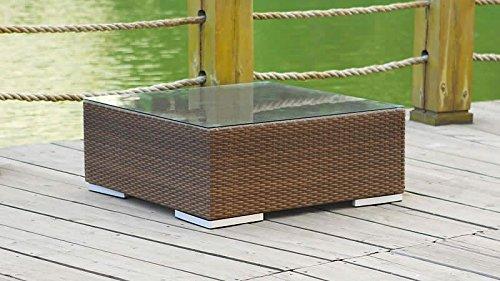 talfa Polyrattan Cube Tisch Glas 2014 – java günstig