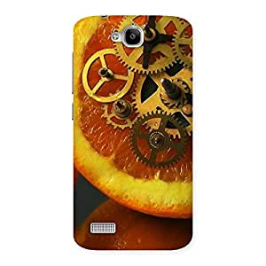 Special Orange Machines Back Case Cover for Honor Holly