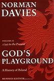 God's Playground: Vol 2 (0199253404) by Norman Davies