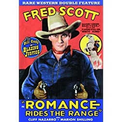 Rare Western Double Feature: Romance Rides the Range (1936) / Blazing Justice (1935)