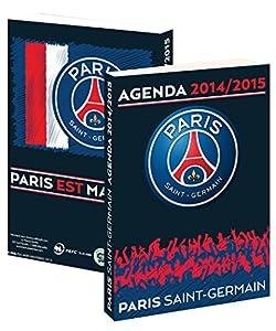 Agenda scolaire PSG 2014 / 2015 - Collection officielle PARIS SAINT GERMAIN - Rentrée scolaire