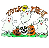 Halloween Ghost Window Sticker - Trick or Treat