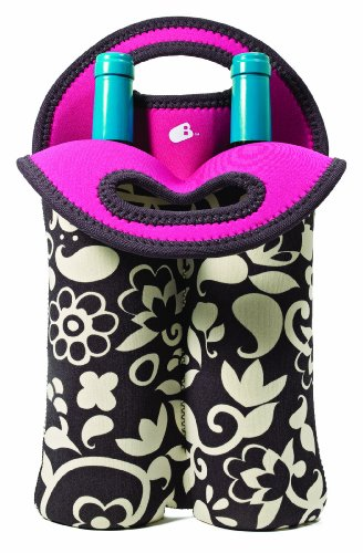 Built 2- Bottle Wine Tote, French Bull Vine