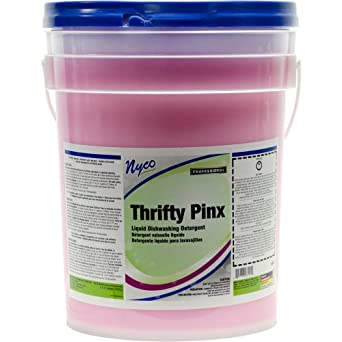 Nyco Products NL984-P5 Thrifty Pinx Lotionized Dishwash, 5-Gallon Pail
