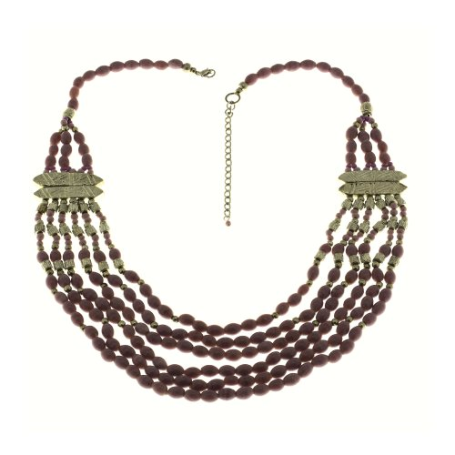 Party Lavender Necklace Fashion Handmade Costume Jewelry from India