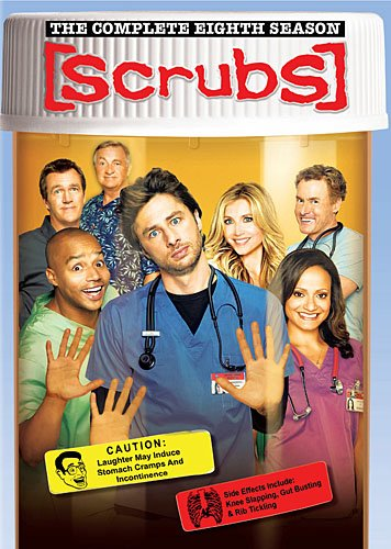 Cover art for  Scrubs: Season 8