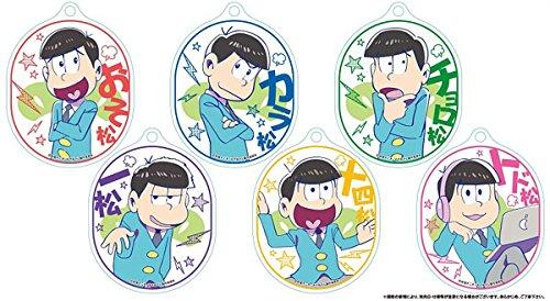 おそ松さん やわらかクリアストラップL コレクションズ BOX商品 1BOX = 6個入り、全6種類