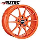 Alufelge Autec WIZARD VW Golf III Cabrio 1E, 1E..., 1H, 1H... 6.5 x 15 Racing orange