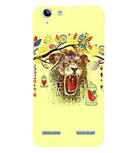 PrintVisa Animal Bear Art 3D Hard Polycarbonate Designer Back Case Cover for Lenovo Vibe K5 Plus
