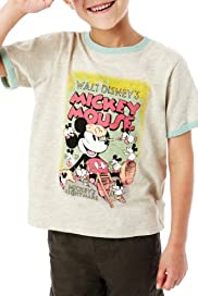 Cotton Rich Mickey Mouse T-Shirt [T88-2709C-S]