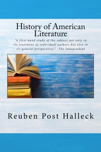 The history of american literature