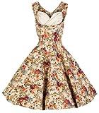 Lindy Bop 'Ophelia', Vintage, 1950 er Jahre, Floral Spring Garden Party Picknick Kleid