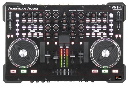 Review American Audio VMS4.1 4 Channel MIDI Controller