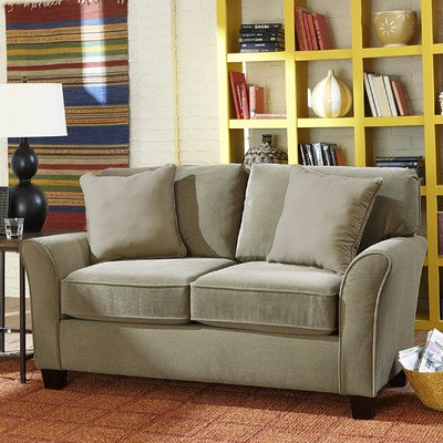 Muse Loveseat Color: Chocolate