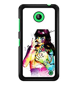 PRINTSWAG GIRL ART Designer Back Cover Case for NOKIA LUMIA 630