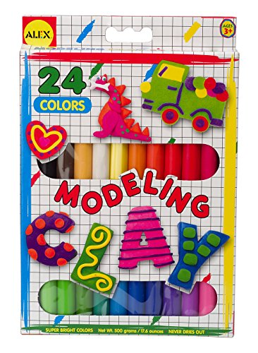 ALEX Toys Artist Studio Modeling Clay with 24 Colors