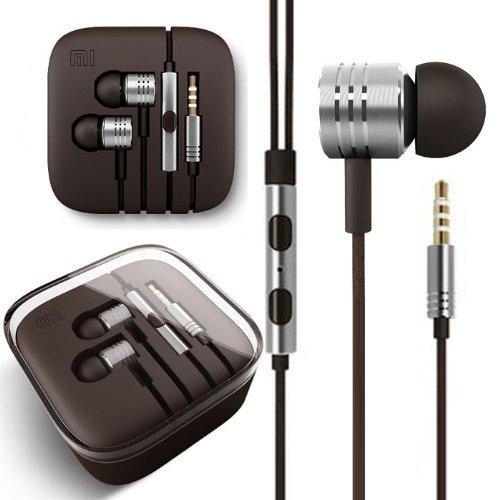 Changeshopping Silver Piston Ear Earphones Headset Headphones For Xiaomi M3 2S 2A