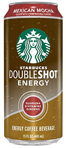 Starbucks Doubleshot Energy Cans, Mexican Mocha, 15 Ounce Cans, 12 Count (Starbucks Coffee Can compare prices)