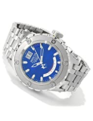 Invicta Men's 1583 Reserve Retrograde Blue Dial Stainless Steel Watch